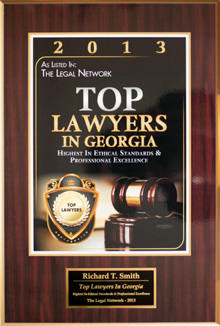 "Attorney & firm founder Richard T. Smith has twice been awarded the ""Highest Possible Rating in Ethical Standards and Legal Ability"" by his peers."
